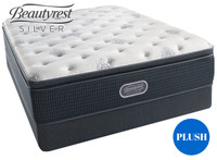 Open Seas Plush Pillow Top Beautyrest Silver