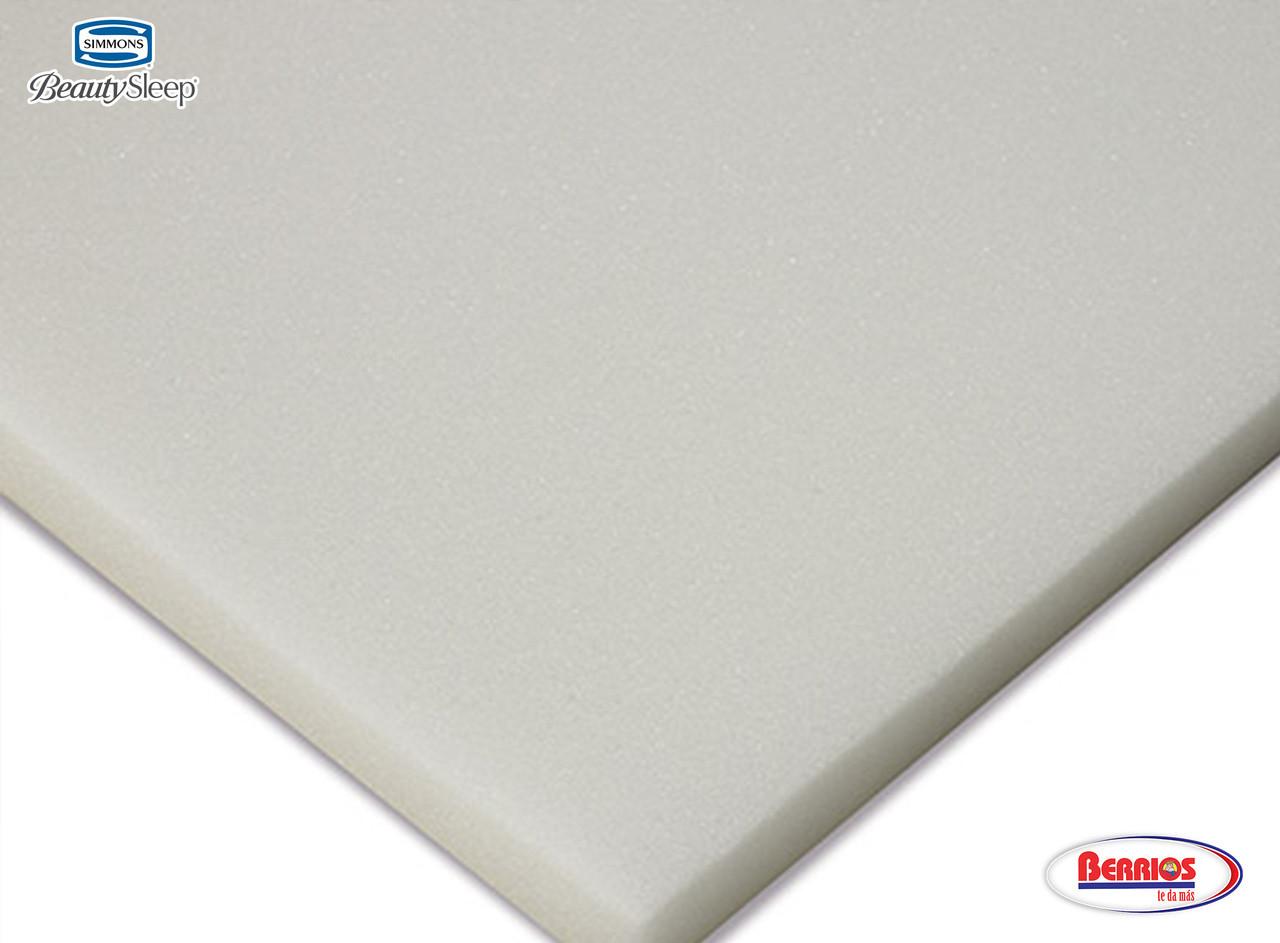La espuma suave y de alta calidad AirFeel ™ ayuda en el flujo de aire y le da durabilidad al mattress.