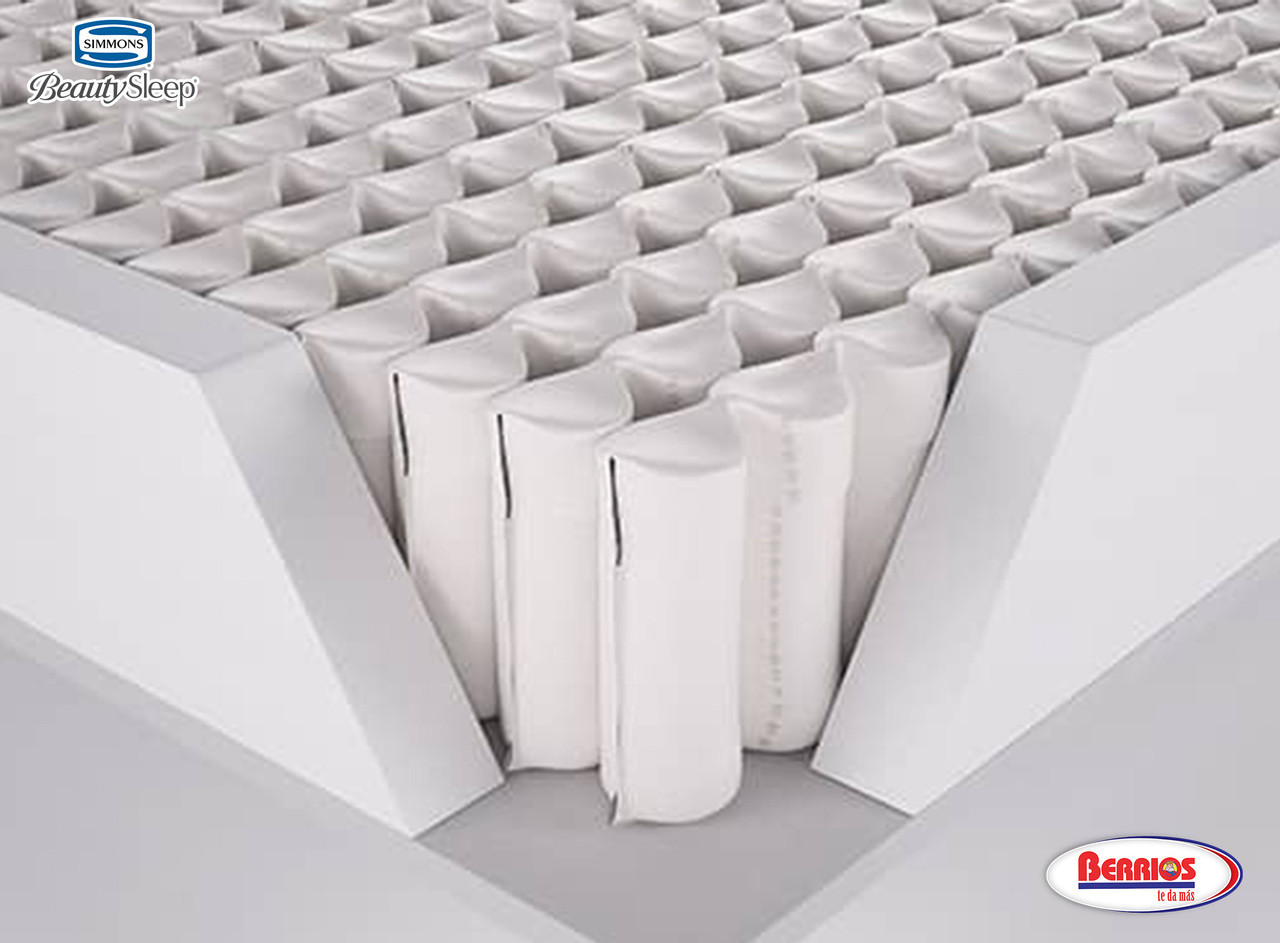 Nuestro sistema de soporte de bordes con cubierta de espuma ayuda a proporcionar un borde de asiento de apoyo mientras maximiza su área de superficie durmiente.