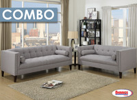 Combo 8 Pcs. | 670 Aria Gray Living Room