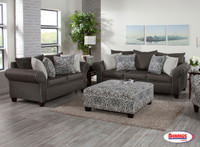 4550 Charcoal Ashton Living Room