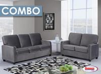 Combo 8 Pcs. | 8220 Depalma Beluga Living Room