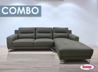 Combo 7 Pcs. | 2067 Ralph Sectional Living Room