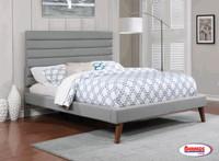 9249 Tivoli Light Grey Bed