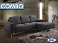 Combo 6 Pcs. | 839 Damian Sectional Living Room