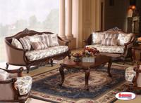 978 Victoria Brown Living Room