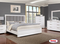 7303  White Winter Bedroom