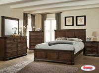 123 Antique Brown Bedroom