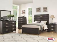 7001 Abraham Bedroom (Dark Finish)
