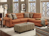 1515 Fandago Flame Sectional Living Room