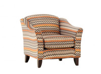 Fandango Flame Accent Chair