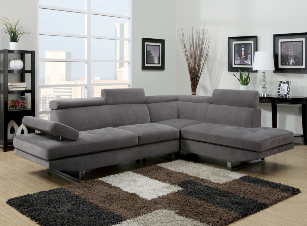 u9782 modern sectional living room berrios te da m s. Black Bedroom Furniture Sets. Home Design Ideas
