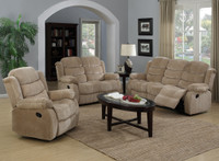 2006 Beige Reclining Living Room