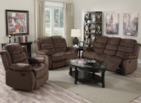 2006 Chocolate Reclining Living Room
