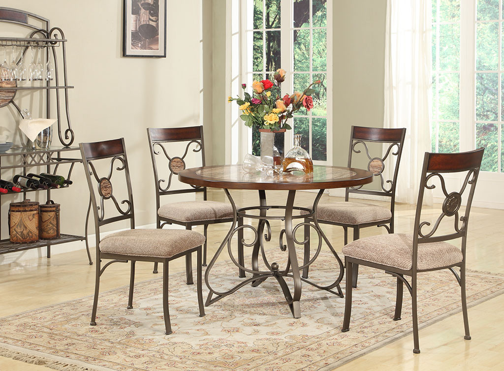 067 dining room set berrios te da m s for Set sillas comedor