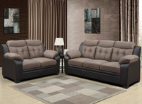 880016 Brown PVC Living Room