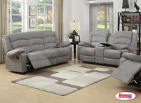 844 Grey Reclining Living Room