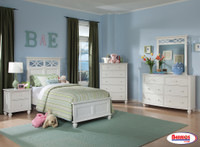 2119 White Bedroom Sets