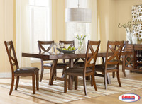 16181 Omaha Trestle Dining Room Set