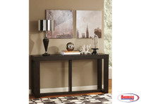 62745 Watson Sofa Table Dark Brown