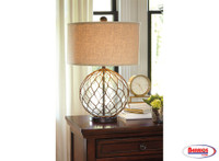 62725 Glass Table Lamp 2 Pc.