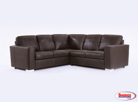 77230 Creely Dark Chocolate Sectional Living Room