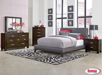 8155 Grey Bedroom sets