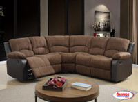 1710 Chocolate Sectional Living Room