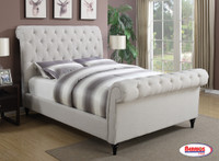 086 Queen Tufted Bed