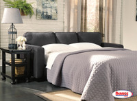 65118 Alenya Charcoal Queen Sofa Slepper