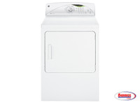 57430 GE® 7.0 CU. FT. STAINLESS STEEL CAPACITY ELECTRIC DRYER WITH HE SENSORDRY™