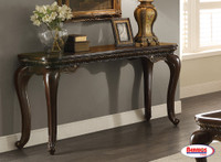 65155 Brown Sofa Table