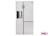 70851 LG 26 cu. ft. Side-by-Side Refrigerator w/ Door-in-Door®
