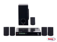 62009 3D-Capable 500W 5.1ch Blu-Ray Home Theater System with Smart TV