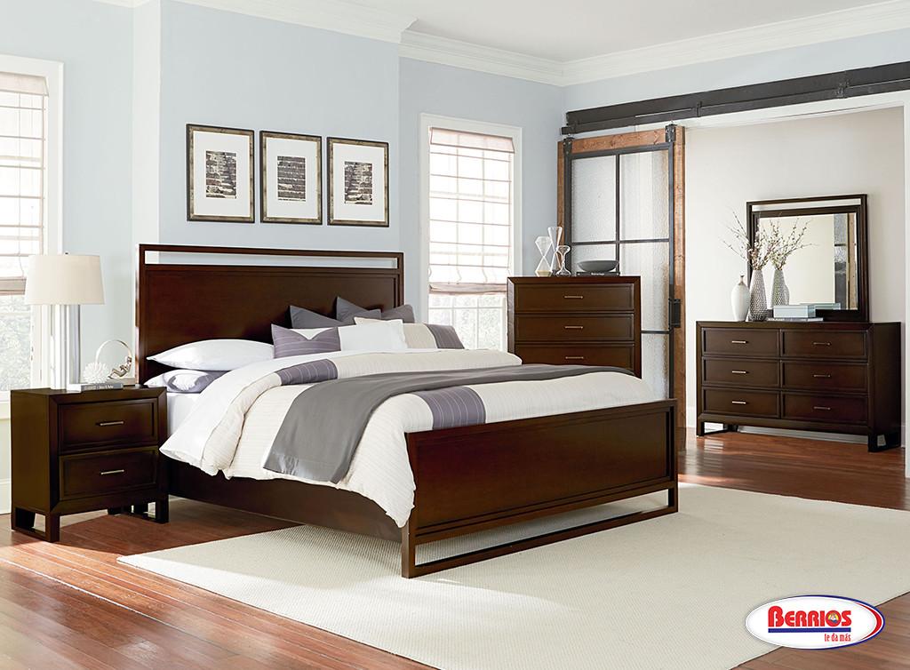 8460 Manhattan Contemporary Queen Bedroom Sets Berrios Te Da M S