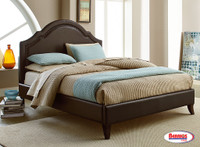 70907 Brown Cathedral Bed