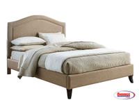70906 Linen Camel Bed
