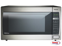 71117 Panasonic 2.2 Cu. Ft. Countertop/Built-In Microwave with Inverter Technology Stainless
