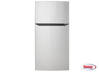 "70849 LG 24 cu. ft. Large Capacity 33"" Wide Top Mount Refrigerator"