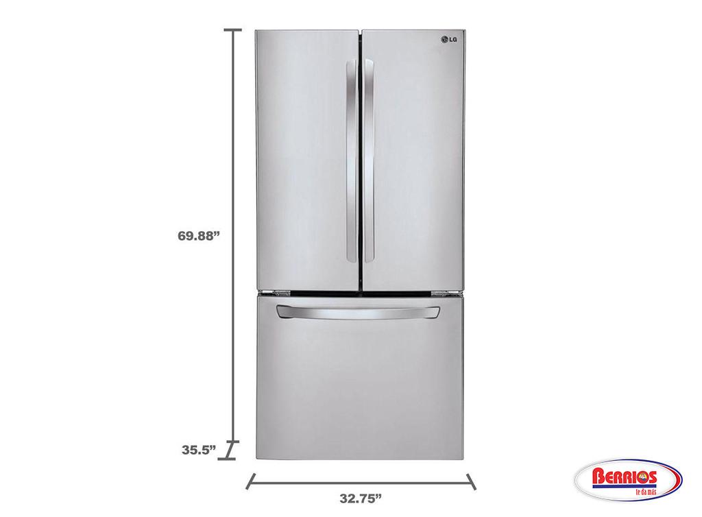70852 lg 24 cu ft ultra capacity 3 door french door for 17 cu ft french door refrigerator