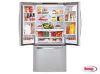 70852 LG 24 cu. ft. Ultra Capacity 3-Door French Door Refrigerator