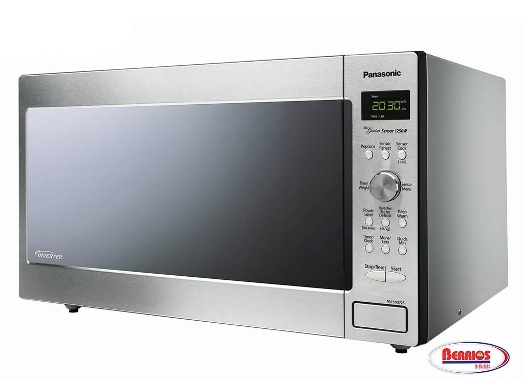 Countertop Microwave With Inverter Technology : ... Countertop/Built-in Microwave with Inverter Technology - Berrios te da