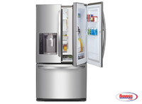 70853 LG 27 cu. ft. Ultra Capacity 3-Door French Door Refrigerator w/ Door-in-Door®