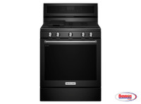 66061 Kitchenaid | Estufa de Gas Negra 30""