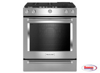 66069 Kitchenaid | Estufa de Gas Stainless Steel 30""