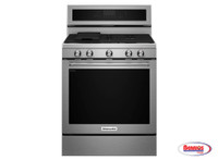 66062 Kitchenaid | Estufa Gas de 30""