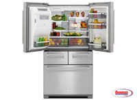 65303 Kitchenaid | Nevera French Door 26' Stainlees Steel