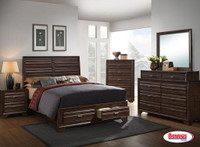 6236 Ant Walnut Bedroom