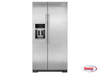 65993 Kitchenaid | Nevera 22.65' Side by Side Monochromatic-Stainless Steel
