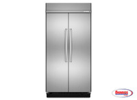 "66225 Kitchenaid | Nevera ""30.0 cu. ft 48-Inch Width Built-In Side by Side"""